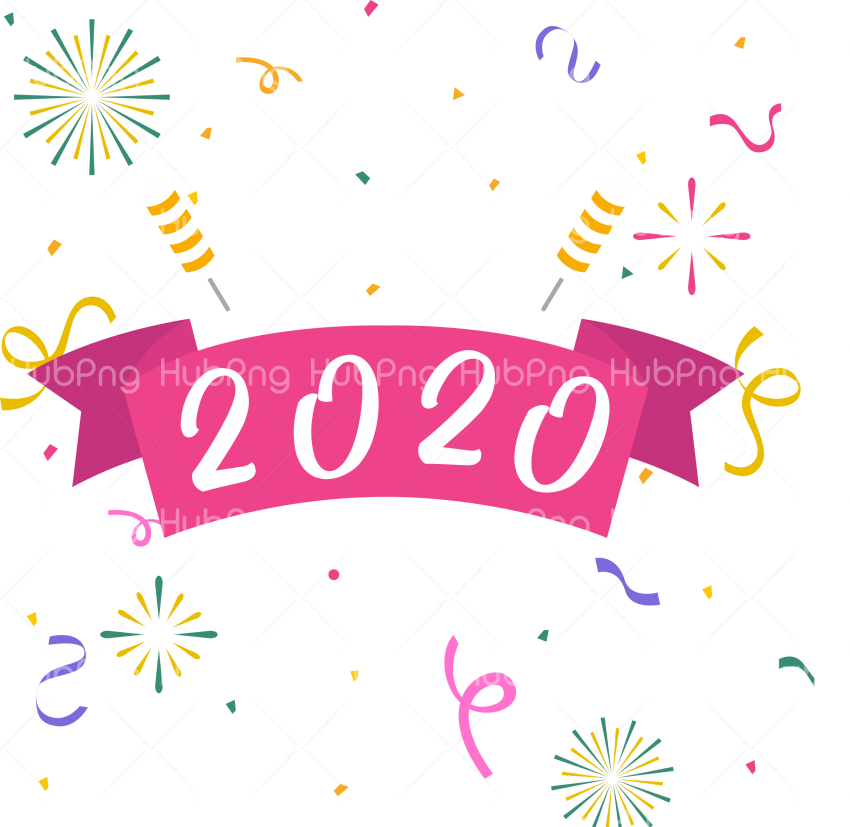 2020 png new year 2020 happy new year clipart Transparent Background Image for Free