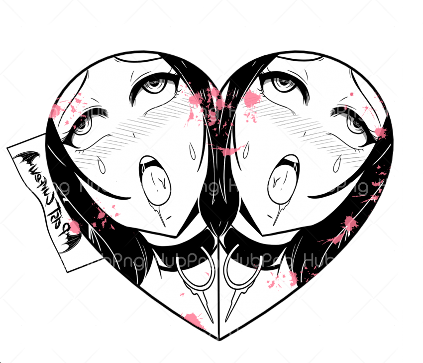 ahegao Transparent Background Image for Free