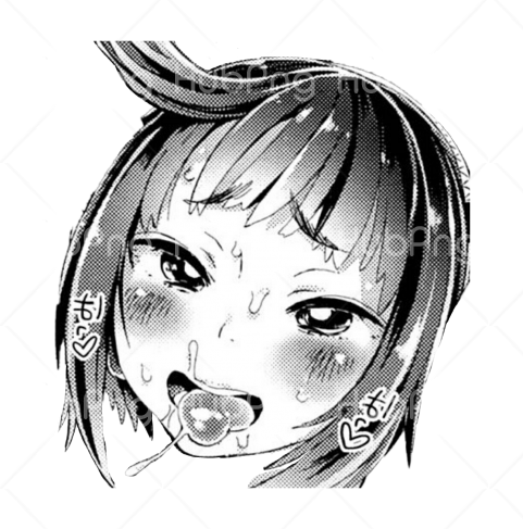ahegao cry Transparent Background Image for Free