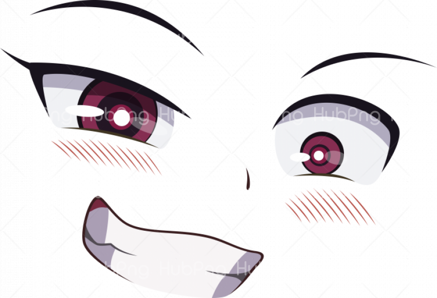 ahegao face png  clipart Transparent Background Image for Free