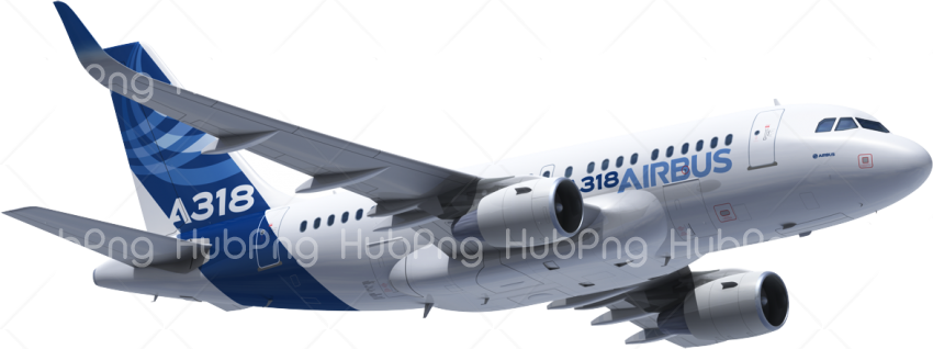 Airbus airplane png Transparent Background Image for Free