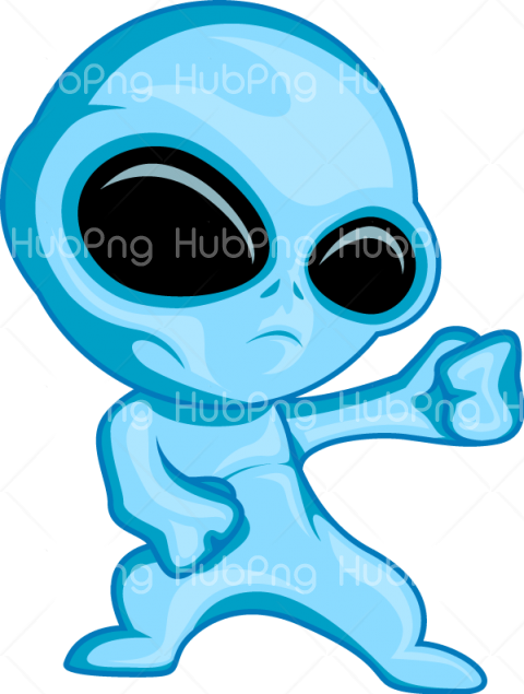 alien png blue color clipart Transparent Background Image for Free