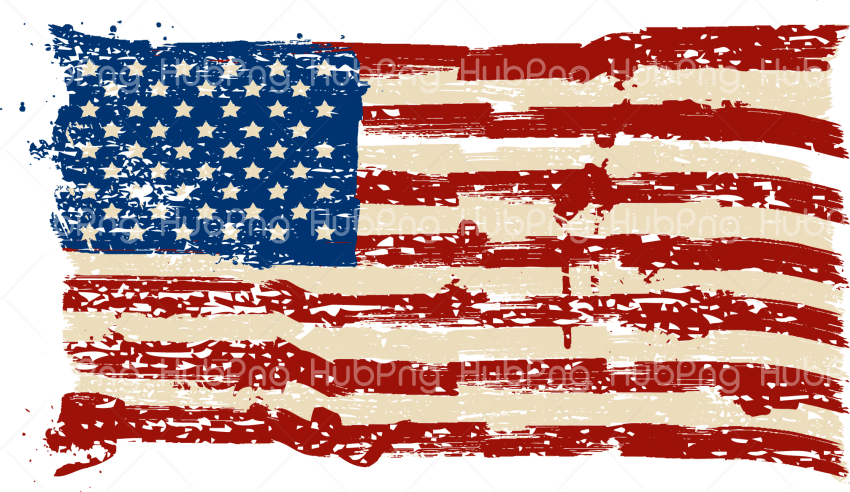 america US flag png clipart hd Transparent Background Image for Free