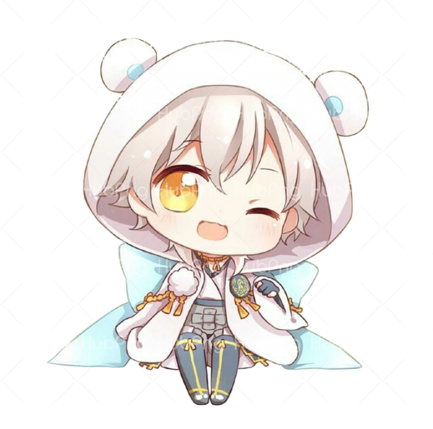 anime chibi Transparent Background Image for Free