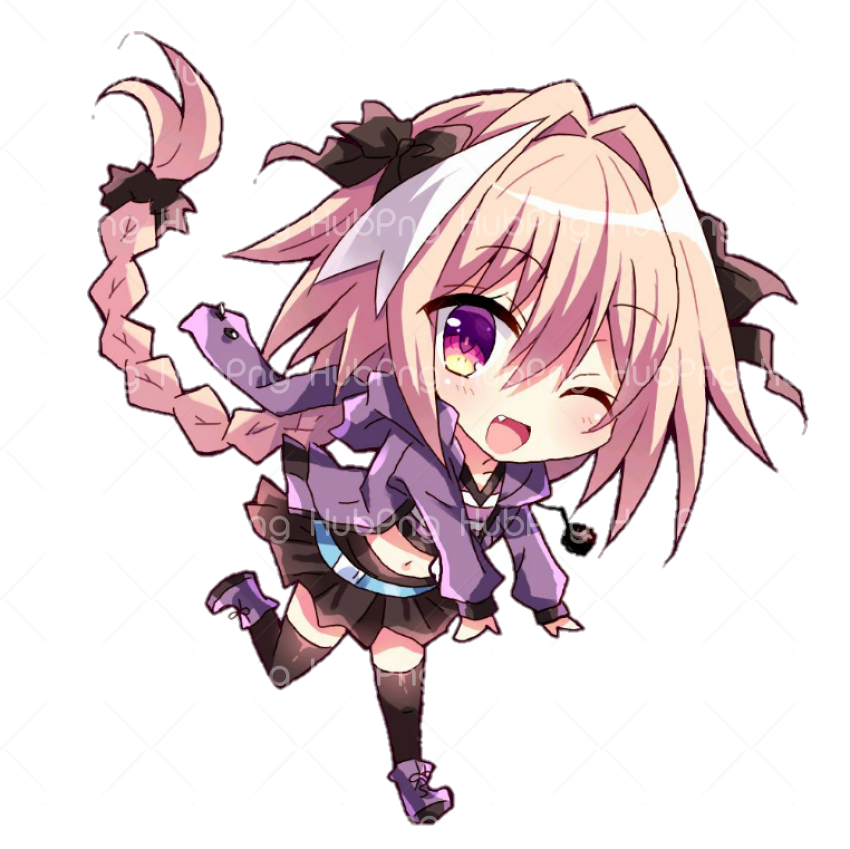 anime chibi image hd Transparent Background Image for Free