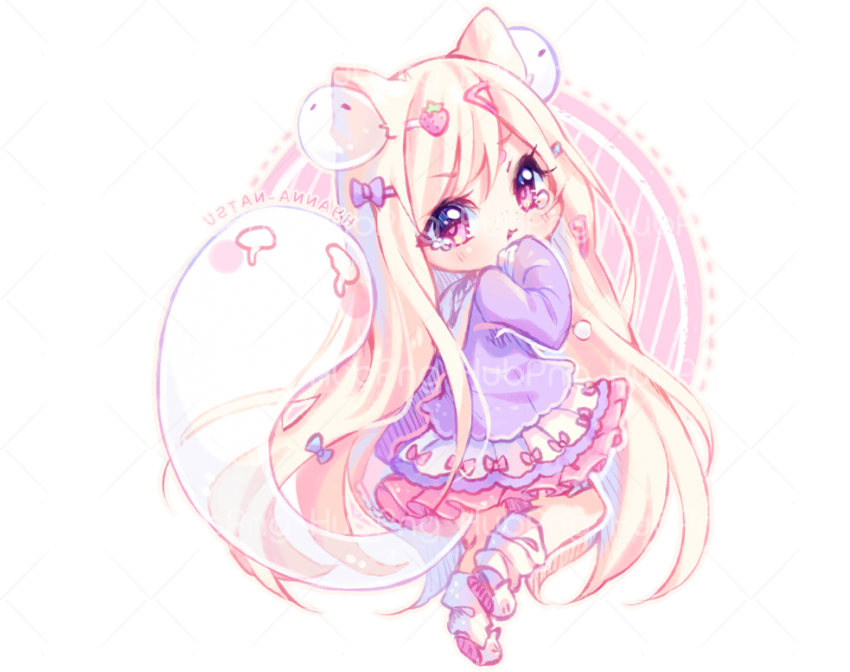 anime chibi png Transparent Background Image for Free