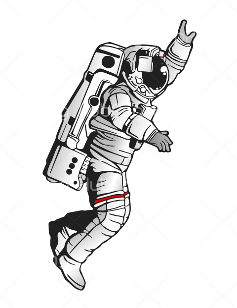 astronaut png clipart Transparent Background Image for Free