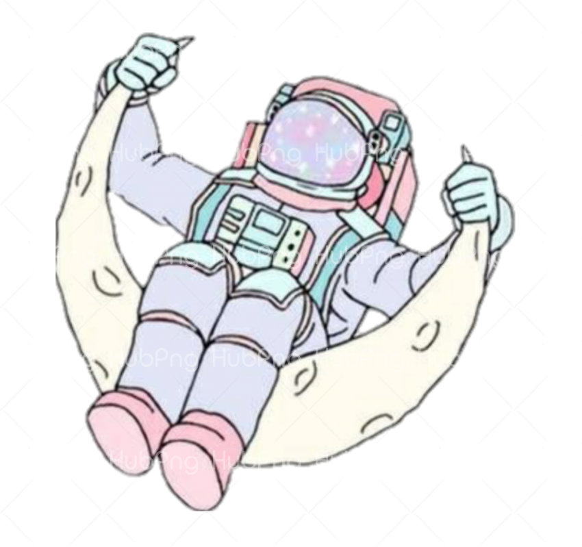 astronauta dibujo png Transparent Background Image for Free