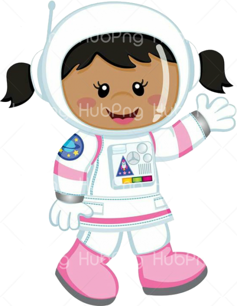 astronauta png cartoon astronaute Transparent Background Image for Free