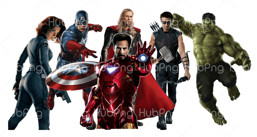 avengers Transparent Background Image for Free