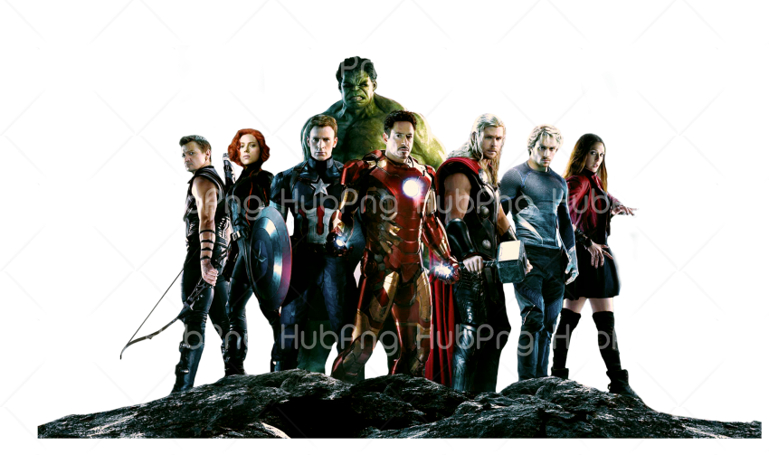 avengers cartoon png Transparent Background Image for Free