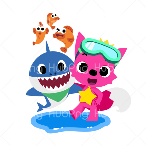 baby shark pinkfong png Transparent Background Image for Free