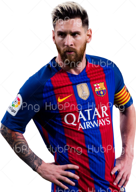 barcelona messi png Transparent Background Image for Free