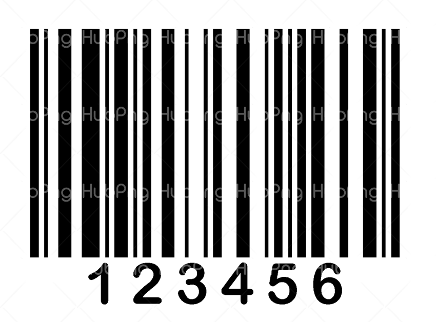 barcode png black Transparent Background Image for Free