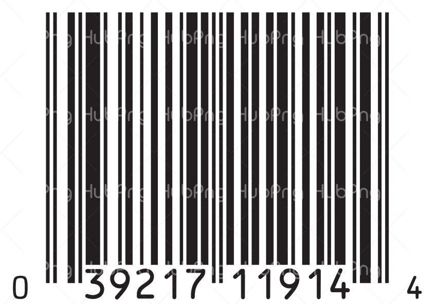 barcode png hd black Transparent Background Image for Free