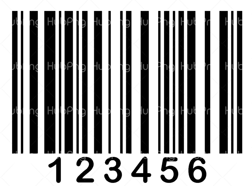 barcode png numbers Transparent Background Image for Free