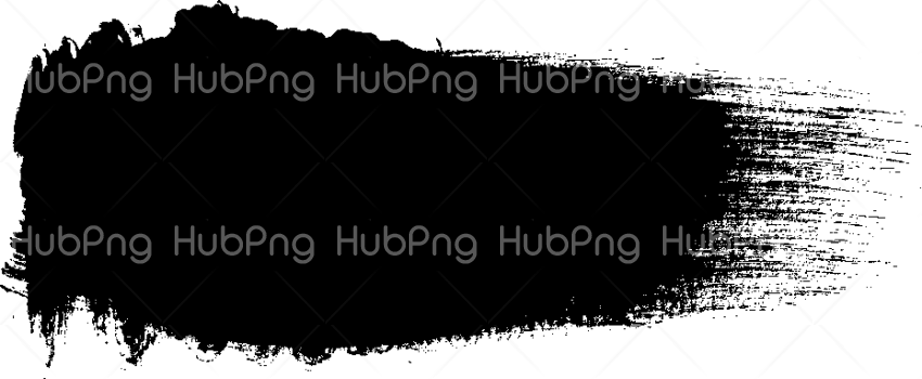 black brush stroke png Transparent Background Image for Free