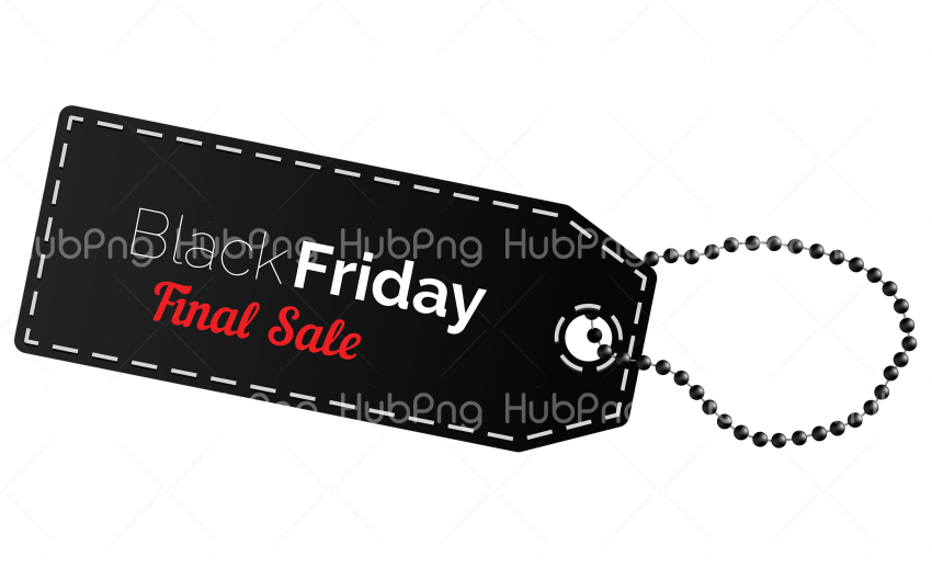 black friday price tag png Transparent Background Image for Free