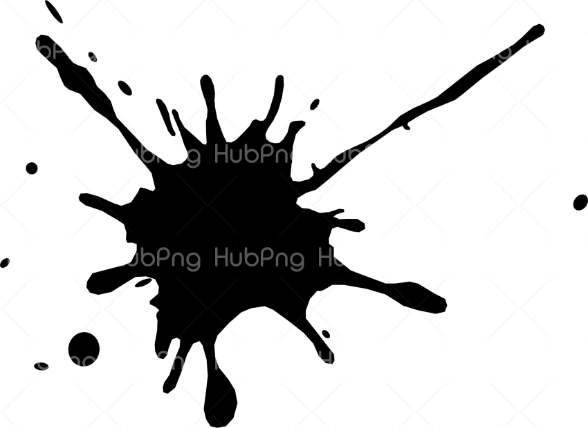 black splatter png Transparent Background Image for Free