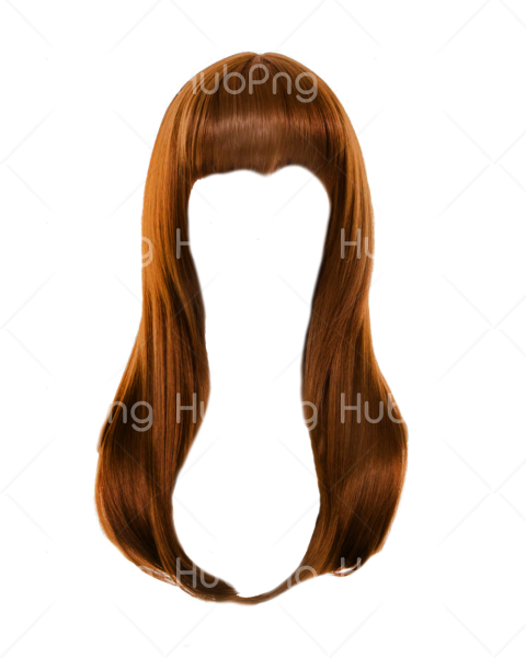blonde hair png brown Transparent Background Image for Free