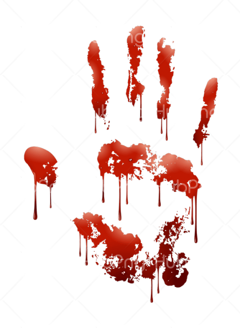 blood png hand Transparent Background Image for Free
