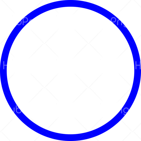 blue circle png Transparent Background Image for Free