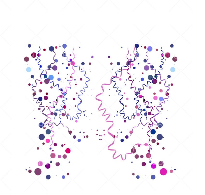 blue confetti png Transparent Background Image for Free