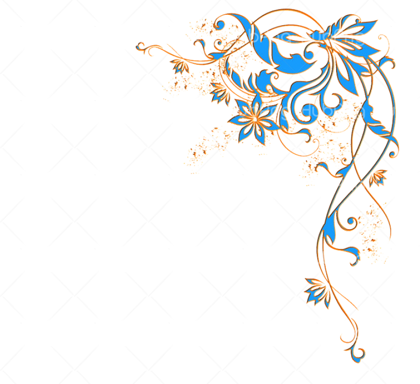 boarders flower Transparent Background Image for Free