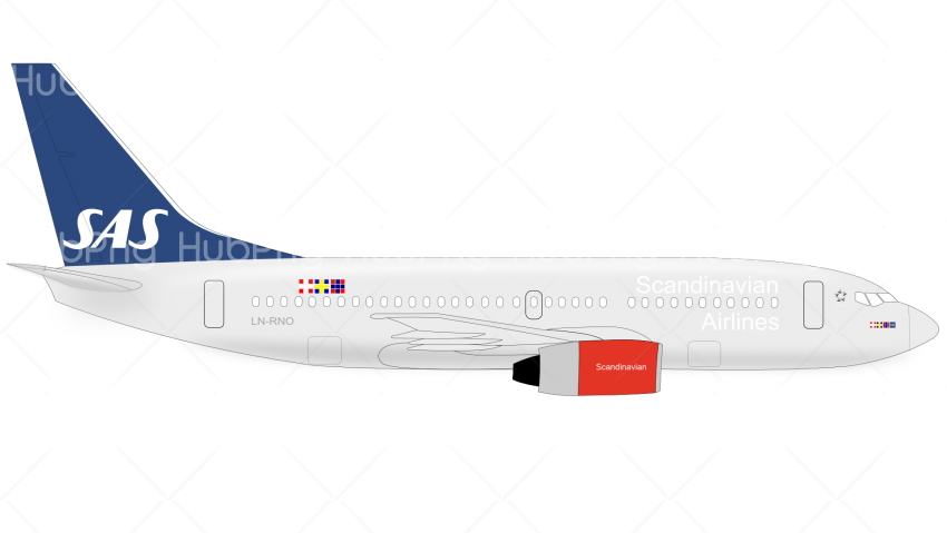 Boeing airplane png hd clipart Transparent Background Image for Free