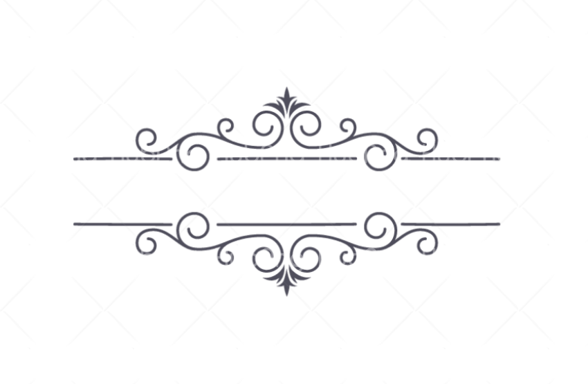 border line design png 2 lines Transparent Background Image for Free