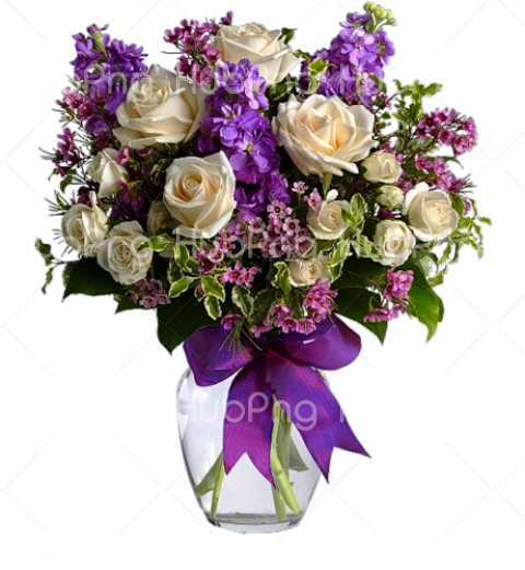 Bouquet flowers transparent PNG Transparent Background Image for Free