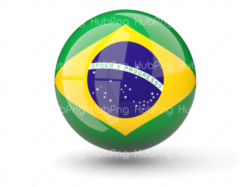 brazil flag png clipart Transparent Background Image for Free