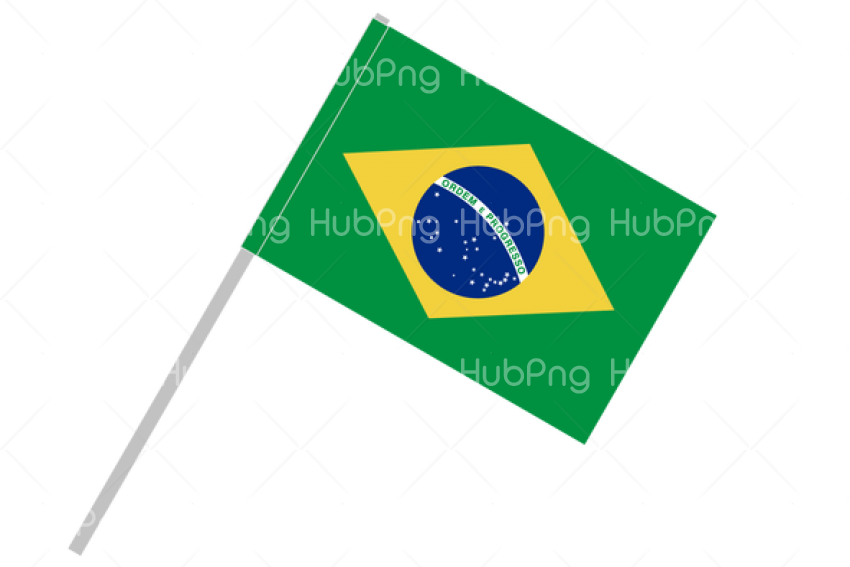 brazil flag png vector Transparent Background Image for Free