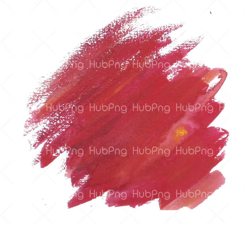 brush stroke png red color Transparent Background Image for Free