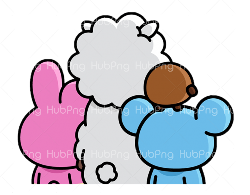 bt21 png hd stickers Transparent Background Image for Free