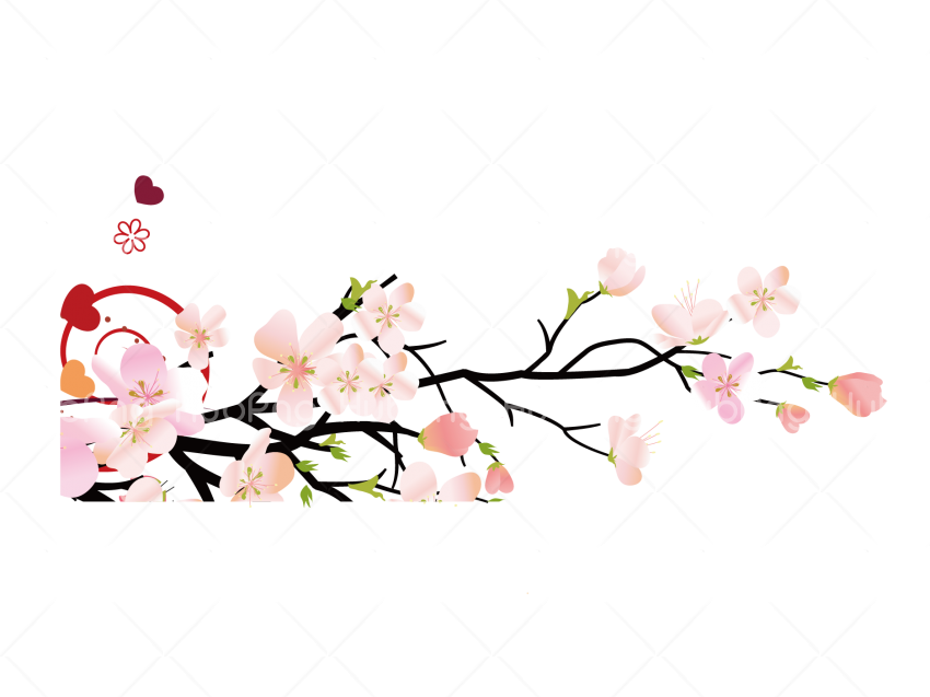 bunga png flowers painting floral Transparent Background Image for Free