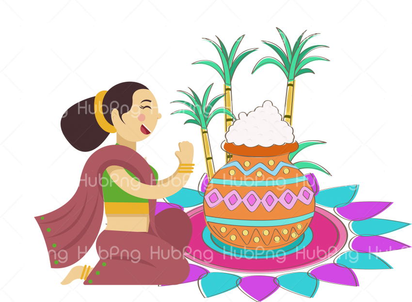cake icing pongal png Transparent Background Image for Free