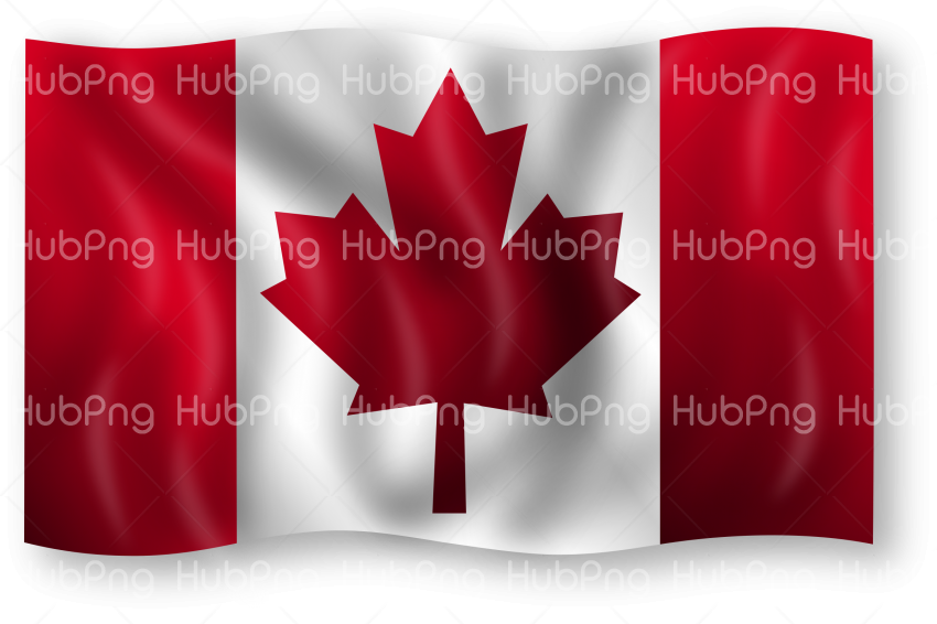 canada flag png clipart Transparent Background Image for Free