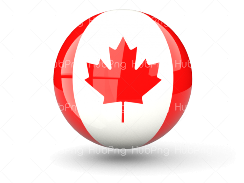 canada flag png hd clipart Transparent Background Image for Free