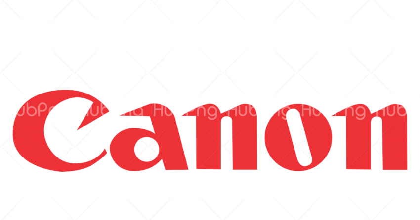 canon logo png red Transparent Background Image for Free