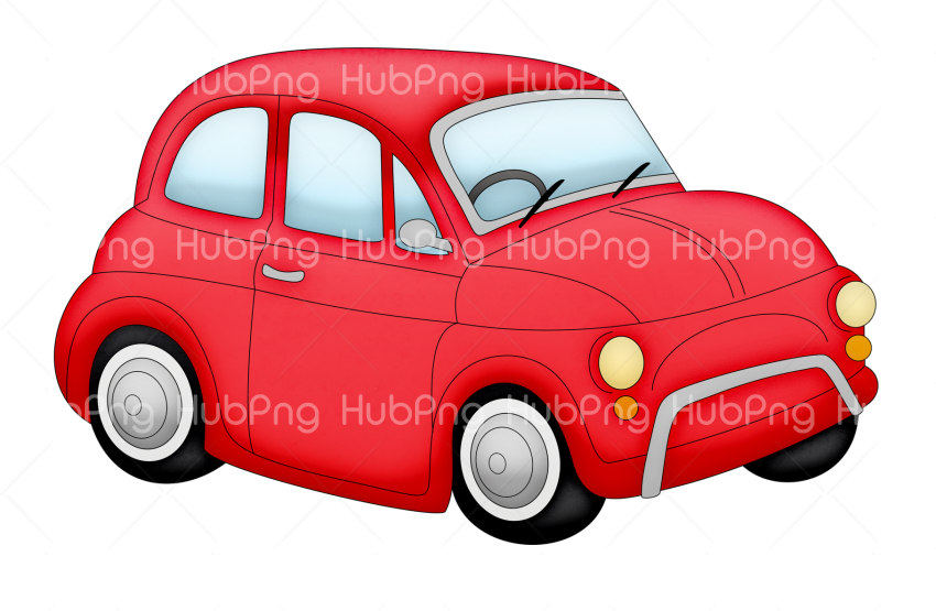 carro png dibujo cartoon Transparent Background Image for Free