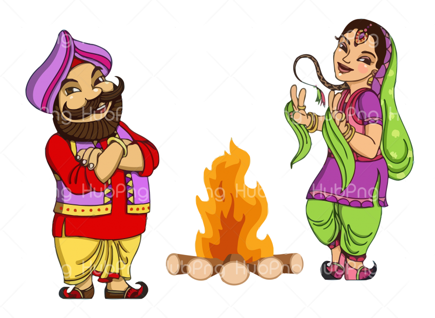 Lohri png fire clipart Transparent Background Image for Free
