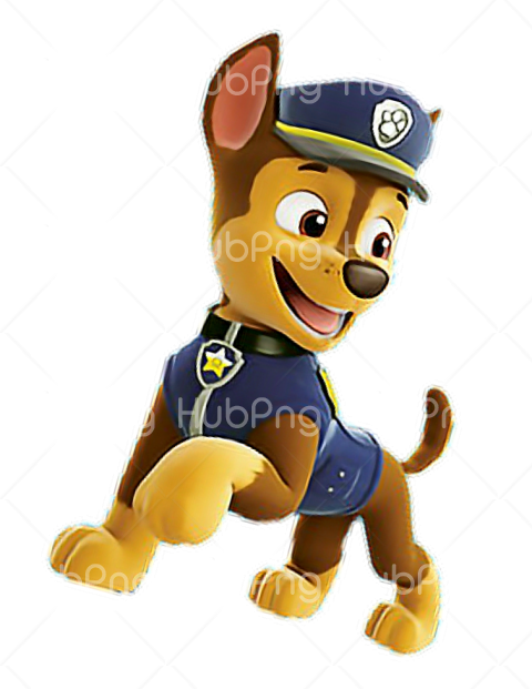 chase paw patrol png Transparent Background Image for Free