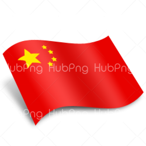 China Flag PNG clipart Transparent Background Image for Free