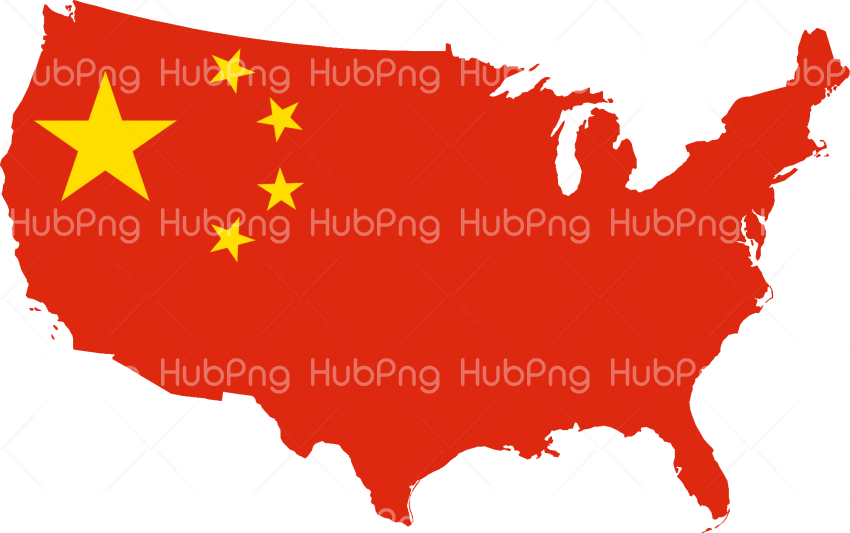 China Flag png map Transparent Background Image for Free