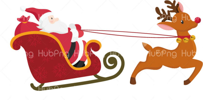 Download christmas clipart  deer png Transparent Background Image for Free