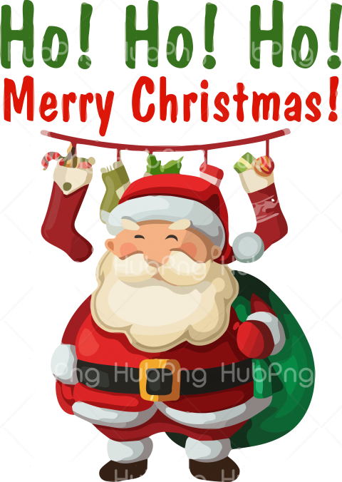 christmas clipart santa vector Transparent Background Image for Free