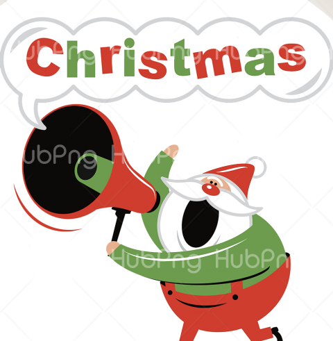 christmas santa png thanks giving Transparent Background Image for Free