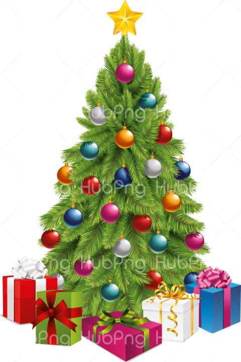 christmas tree png Transparent Background Image for Free