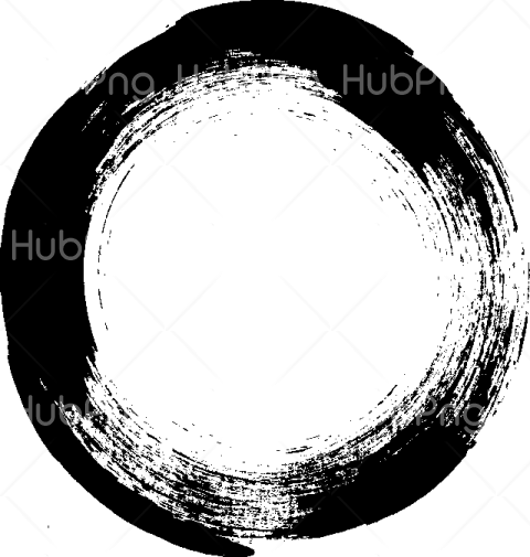 circle brush stroke png Transparent Background Image for Free